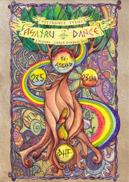 -] asatru dance [- a psychedelic journey to asgard 23 May '14, 23:00