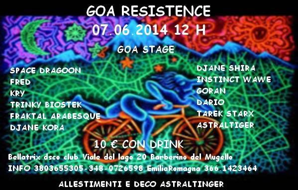Goa Resistence 7 Jun '14, 22:30