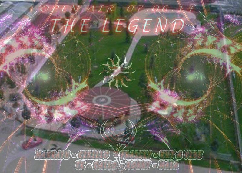 >> The Legend << Open Air Party - Goa Progressive/Minimal- @Legal Party 7 Jun '14, 22:00
