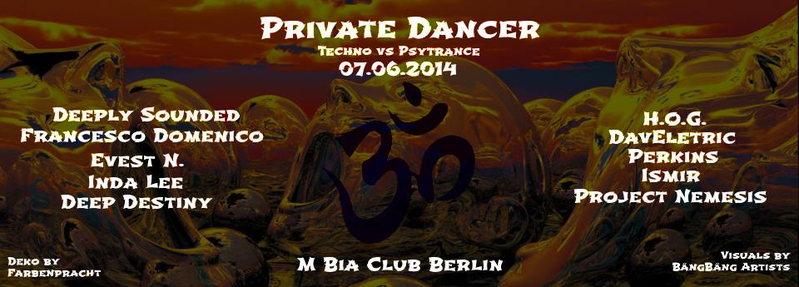 Private Dancer III 7 Jun '14, 22:00