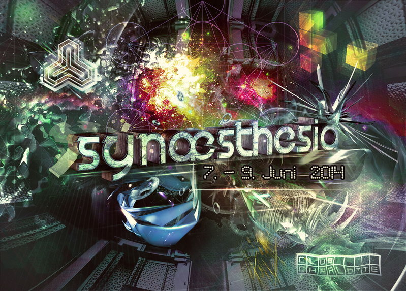 Synæsthesia - Part 5 w/ Black Noise Live / Champa Live / Djane AliceD & more 7 Jun '14, 23:00