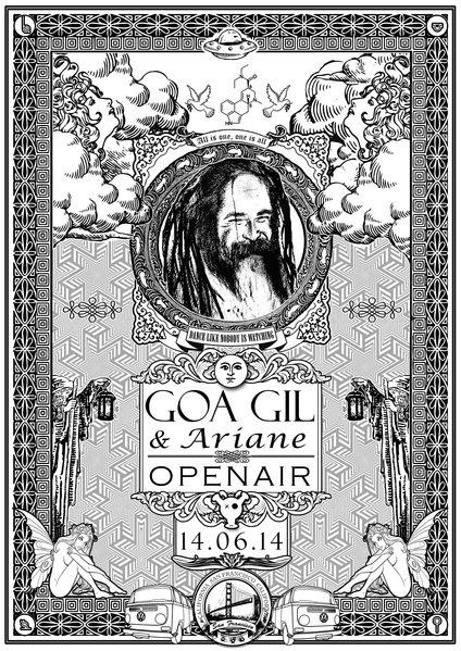 Ariane & Goa Gil Open Air 14 Jun '14, 18:00