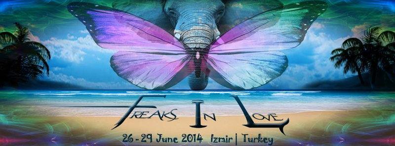 Party flyer: Freaks in Love BEACH Festival 26 Jun '14, 12:00