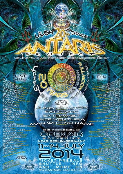 Antaris Project 2014 20th Anniversary 11 Jul '14, 10:30