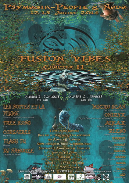 FUSION VIBES II by Psymagik-people & Nada 12 Jul '14, 14:00