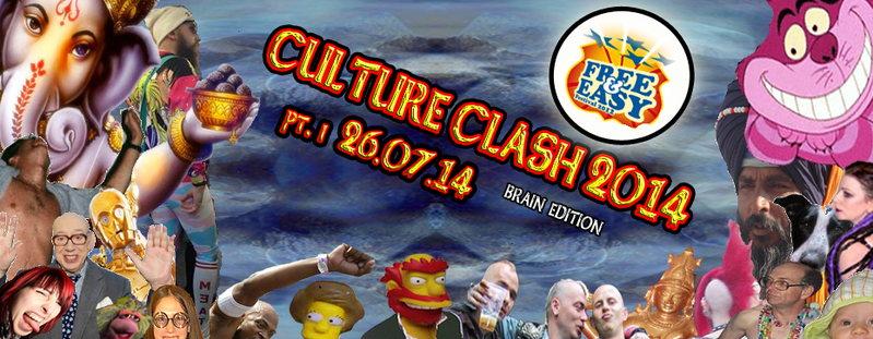 CULTURE CLASH 2014 @ FREE & EASY - pt.1 26 Jul '14, 23:00