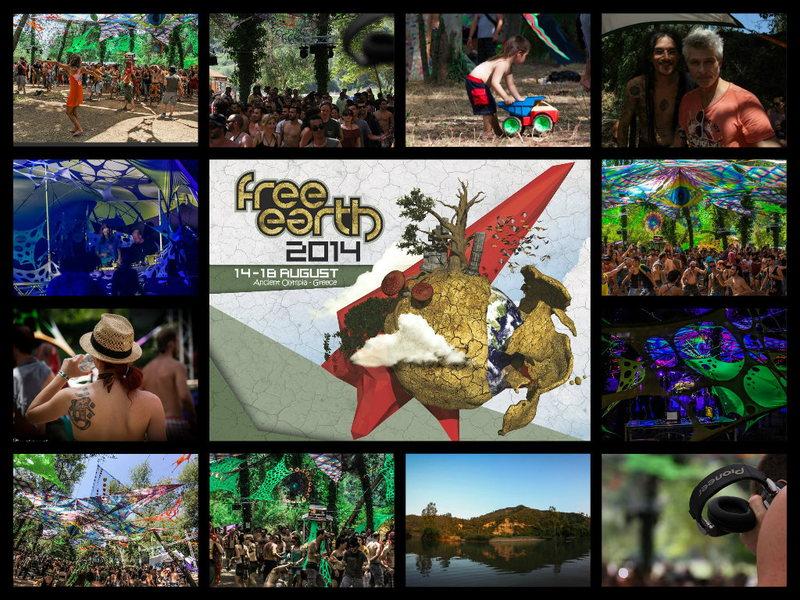 FREE EARTH FESTIVAL 2014 14 Aug '14, 14:00