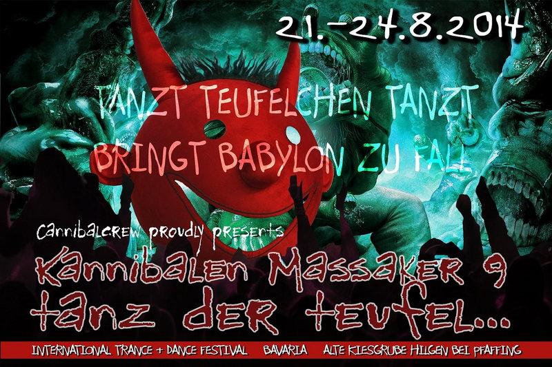 Kannibalen Massaker 9; -Tanz der Teufel- 21 Aug '14, 12:00