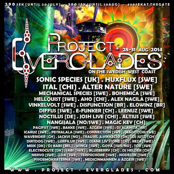 Project Everglades 28 Aug '14, 12:00