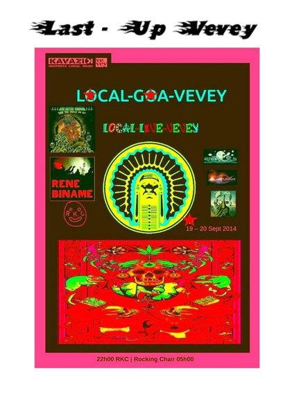 Last-Up Vevey Magic Goa Punk ( Fr+Sa ) 19 Sep '14, 21:00