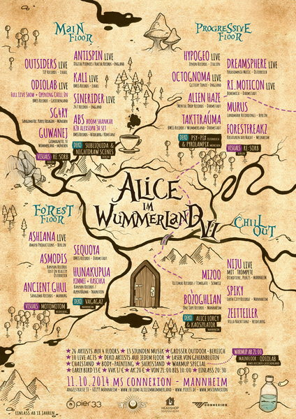 Alice im Wummerland VI 11 Oct '14, 22:00