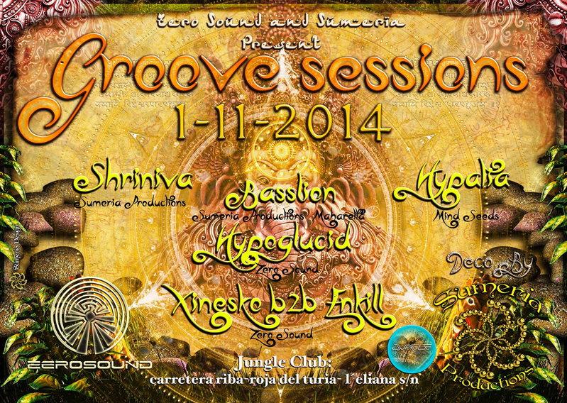 GROOVE SESSIONS@JUNGLE CLUB 1 Nov '14, 23:30