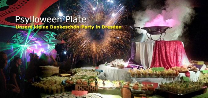 PSYLLOWEEN PLATE - Gaggalacka Friends Event 1 Nov '14, 18:00