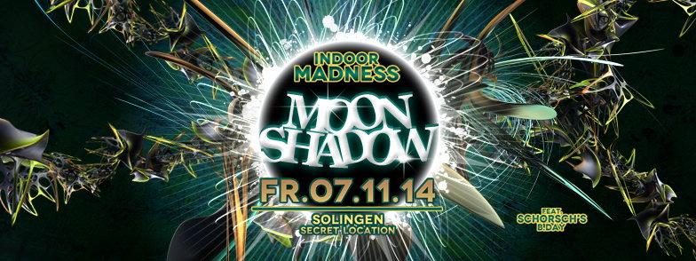 """:::Moon Shadow (Indoor madness):::: HEADROOM (südafrika) """"live"""" 7 Nov '14, 22:00"""