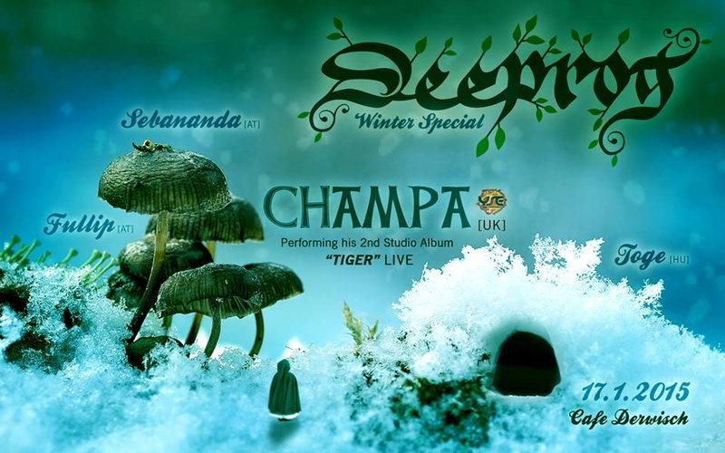 ॐ Deeprog Winter Special (CHAMPA Live) ॐ 17 Jan '15, 23:00