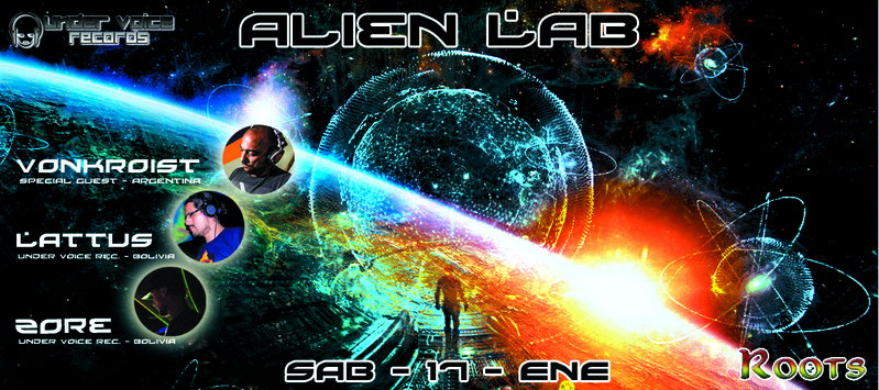 Alien LAB | Label Party | Under Voice Records 17 Jan '15, 22:00