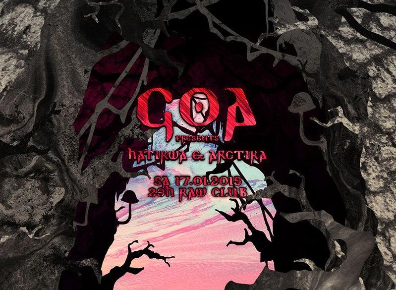 Goa Presents Hatikwa & Arctika 17 Jan '15, 23:00