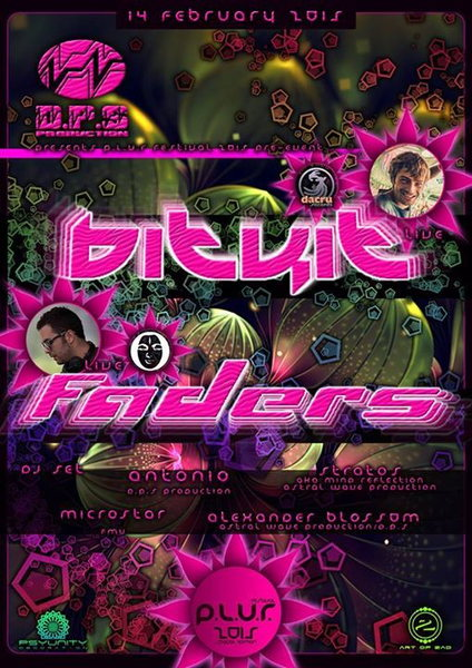 D.P.Sproduction presents:BITKIT- FADERS(first time in Greece)/PLUR2015 pre event 14 Feb '15, 23:30