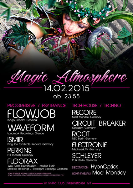 Magic Atmosphere 14 Feb '15, 23:00