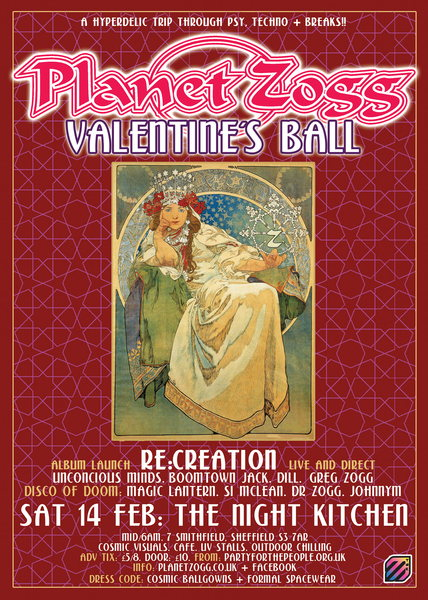 Planet Zogg Valentine's Ball 14 Feb '15, 23:30