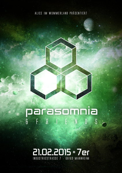 Alice im Wummerland präsentiert: Parasomnia and friends 21 Feb '15, 23:00