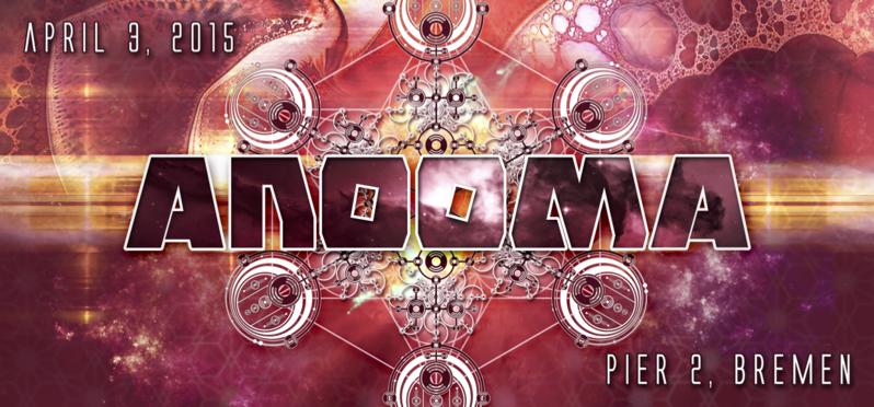 ANOOMA // the psychedelic anomaly 3 Apr '15, 21:00