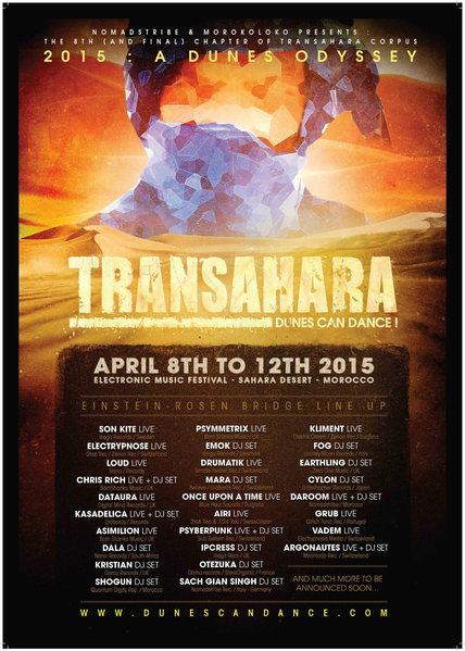 TRANSAHARA FESTIVAL 8 - 12 APRIL 2015, SAHARA DESERT, MOROCCO 8 Apr '15, 22:00