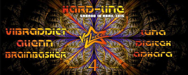 Hard-Line 4 @ Via Lactea 18 Apr '15, 23:00