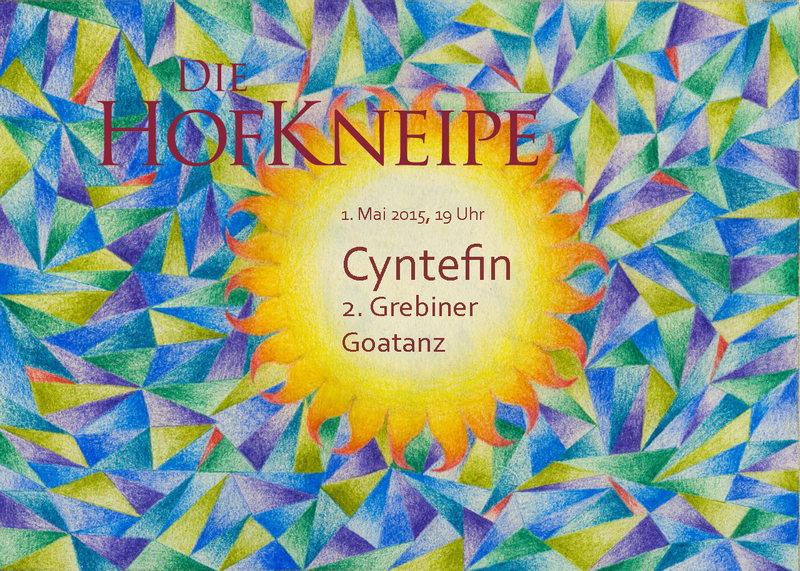 Cyntefin - 2. Grebiner Goa-Tanz 1 May '15, 19:00