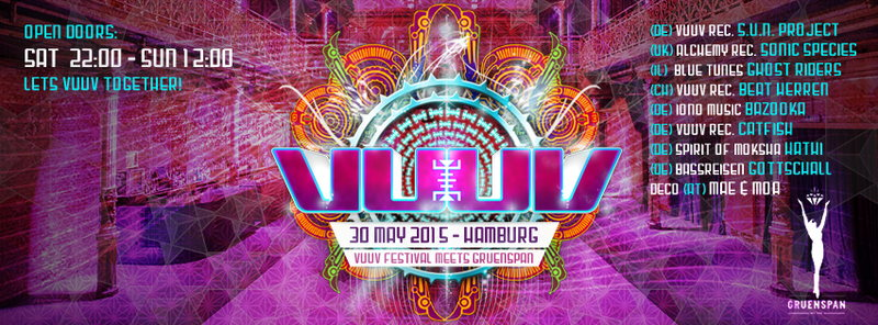 VuuV Preparty 2015 | Hamburg 30 May '15, 22:00