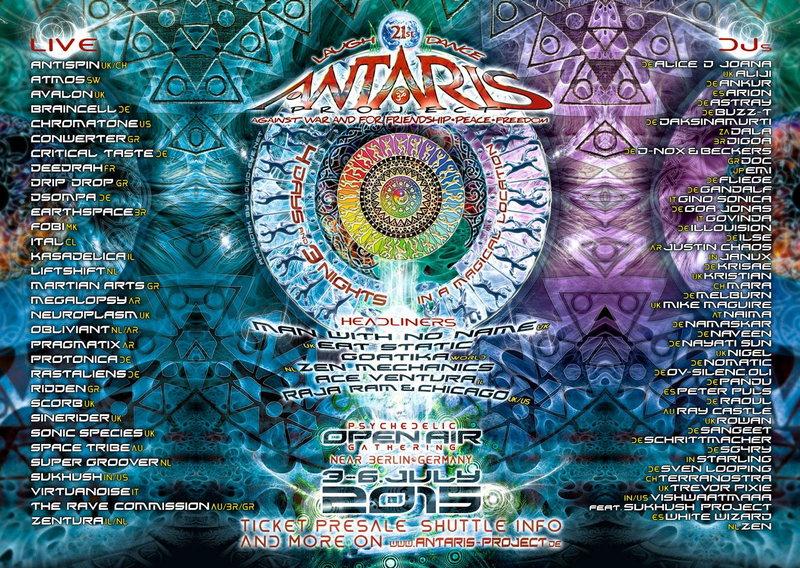 21st Antaris Project 3 Jul '15, 12:00