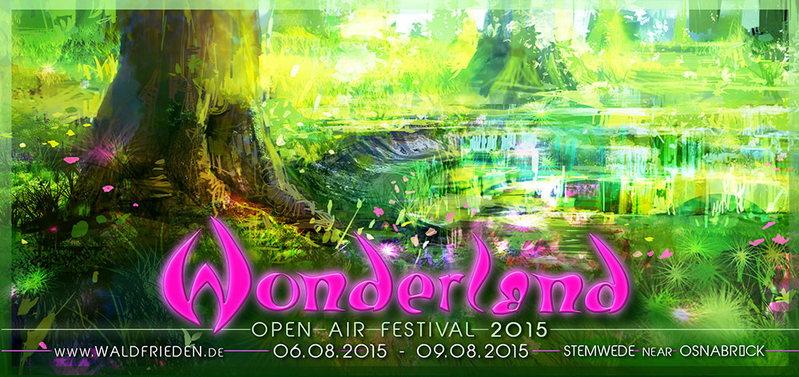 Wonderland International Open Air Festival 2015 6 Aug '15, 16:00