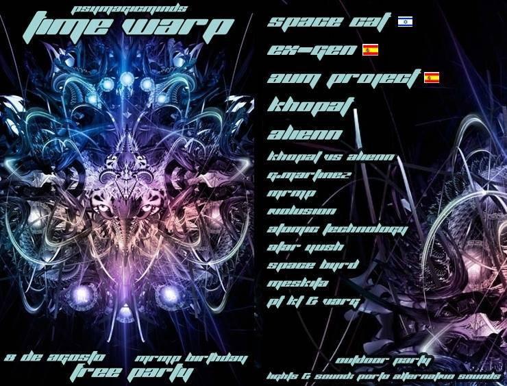 TIME WARP 8 Aug '15, 23:30