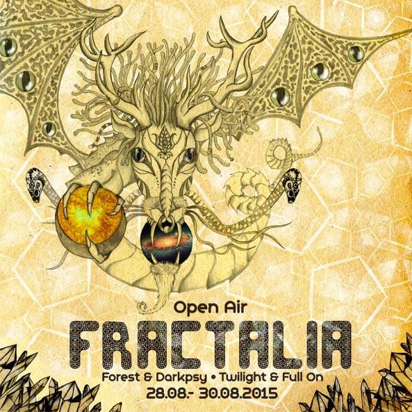 FRACTALIA Open Air 2.0 28 Aug '15, 20:00