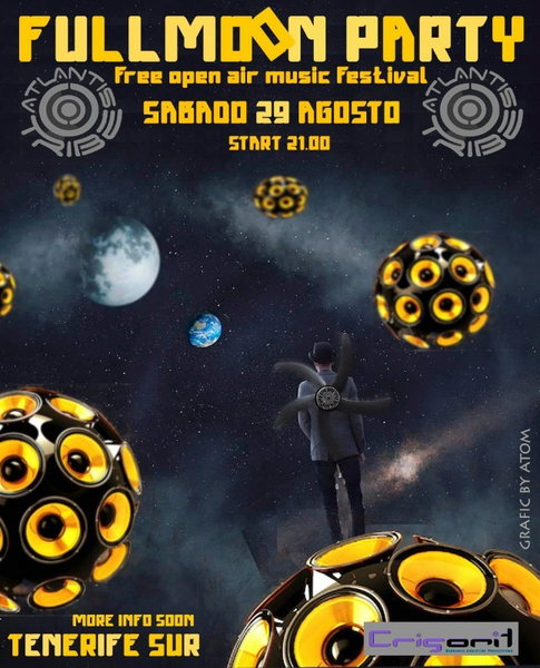 ☮☮.THE FULLMOON PARTY 2 SOUND SYSTEM!!.☮☮ 29 Aug '15, 22:00