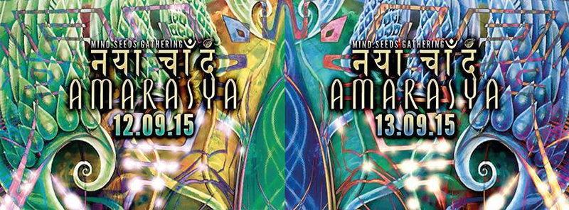 AMARASYA - Special DOUBLE BASH Eddition! 12 Sep '15, 23:00