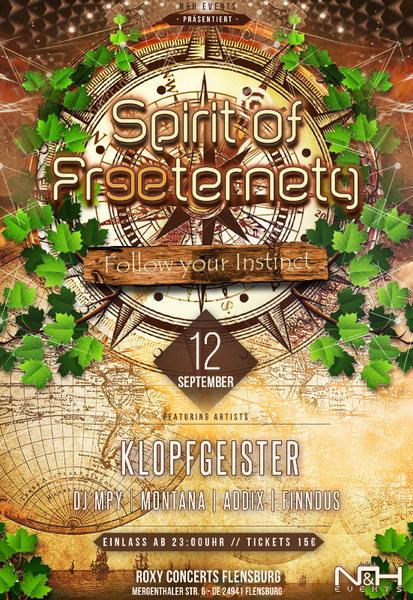 Spirit of Freeternety 12 Sep '15, 23:00