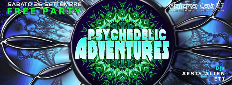 Psy Adventures - Free Party 26 Sep '15, 23:30