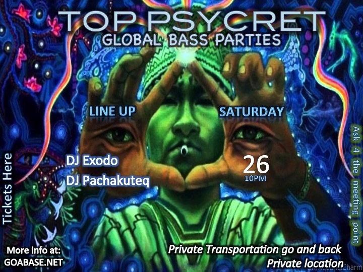 TOP PSYCRET GLOBAL BASS PARTIES 4 26 Sep '15, 22:00