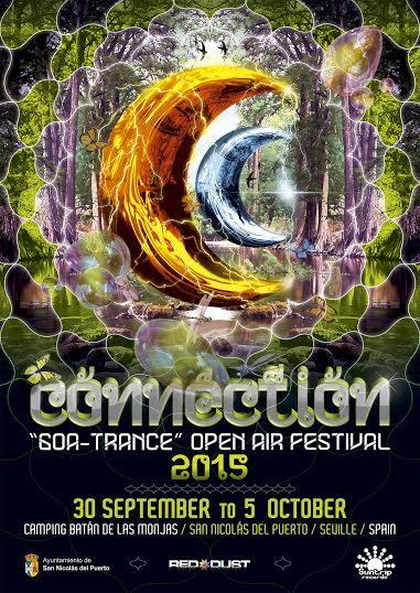 CONNECTION 2015 < Open air GoaTrance Festival > 30 Sep '15, 21:00