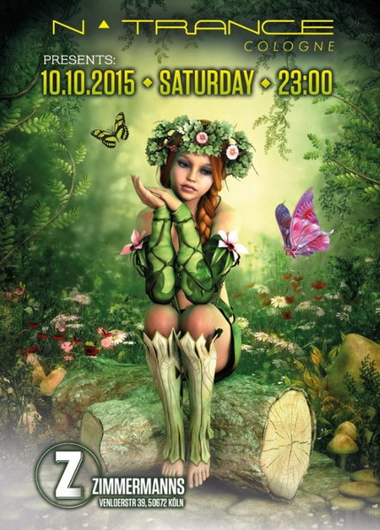 nTrance Cologne @ Zimmermanns 10 Oct '15, 23:00
