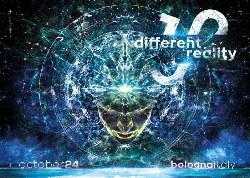 DIFFERENT REALITY 10.0 - SYMBOLIC live+dj set 24 Oct '15, 23:00