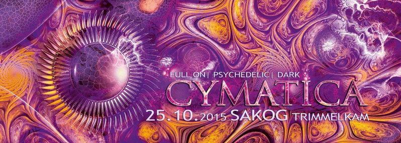 CYMATICA 25 Oct '15, 21:00
