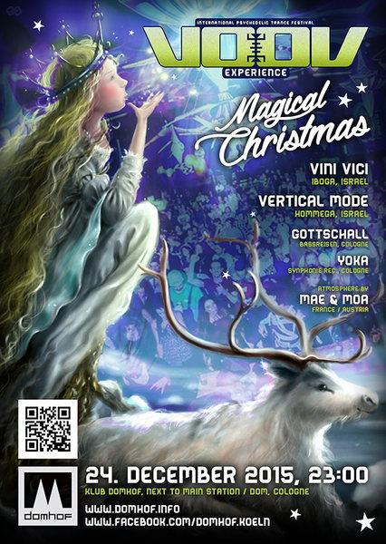 KLUB DOMHOF | VooV Official Christmas Party | VINI VICI & VERTICAL MODE 24 Dec '15, 23:30