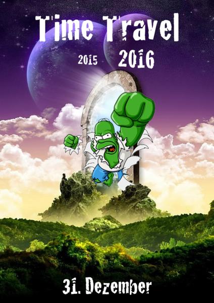 Time Travel ~ next stop: 2016 31 Dec '15, 22:00