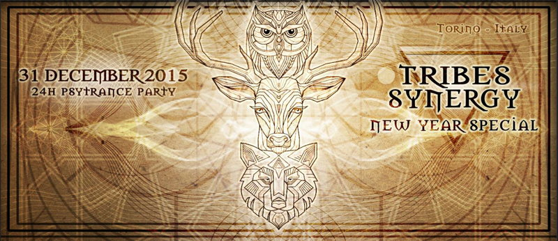 TRIBES SYNERGY (NEW YEAR SPECIAL) 31 Dec '15, 18:00
