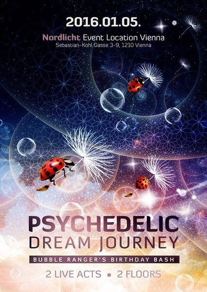 Psychedelic Dream Journey 2016 Birthday Bash 5 Jan '16, 22:00
