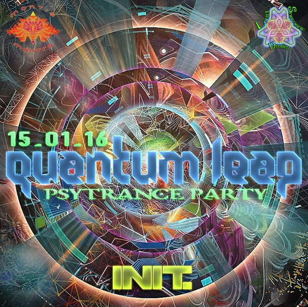 Party flyer: 15GENNAIO ∴ ∵ ∴※QUANTUM∞LEAP※∴ ∵ ∴ ॐ <PSY-TRANCE-PARTY> ॐ 15 Jan '16, 22:00