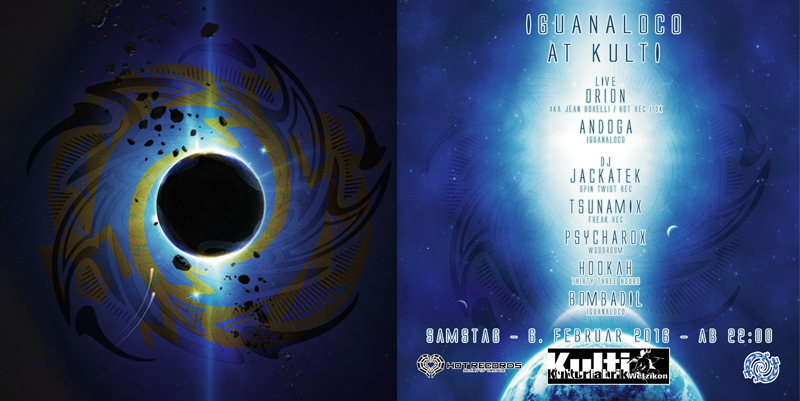IGUANALOCO AT KULTI 6 Feb '16, 22:00