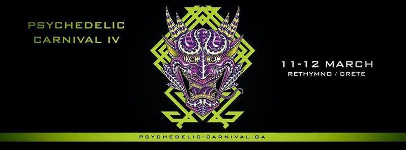 Psychedelic carnival IV 13 Mar '16, 21:00